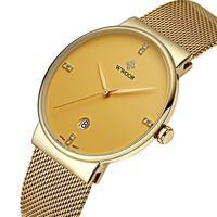 WWOOR Luxury Brand Men Waterproof Sports Watches Men S Quartz Date Clock Male Black Strap Casual