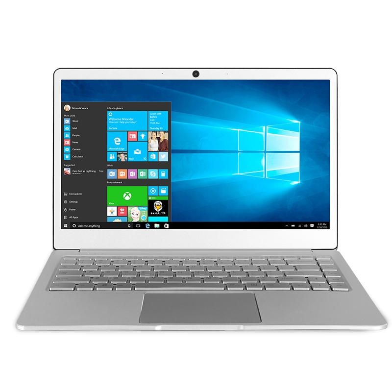 Джемпер EZbook X4 ноутбук 14 дюймов ноутбук в металлическом корпусе 4 ГБ Оперативная память 128 ГБ SDD Windows 10 Intel Близнецы озеро N4100 9200 мАч клавиатура ...