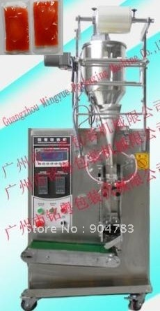Full automatic packing machine liquid packing machine for ketchup paste packing one machine with one wooden case free Shipping