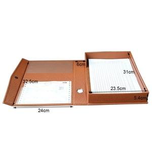 Image 2 - Семейная бумажная коробка для файлов A4, органайзер для документов, деловой подарок, держатель для файлов A4, настольный органайзер, коробка для хранения данных