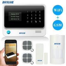 Датчик сигнализации bonlor g90b wifi gprs gsm с автоматическим