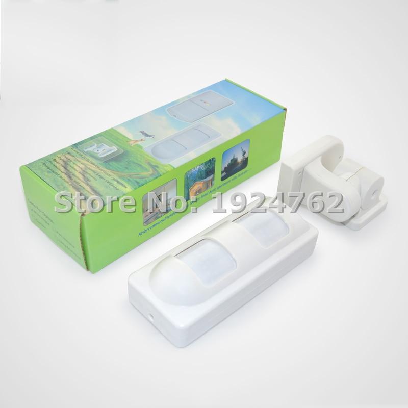 ФОТО High Quality Outdoor Microwave+PIR Motion Sensor Anti-white Anti-mask Alarm PIR with NC Output, Free Shipping