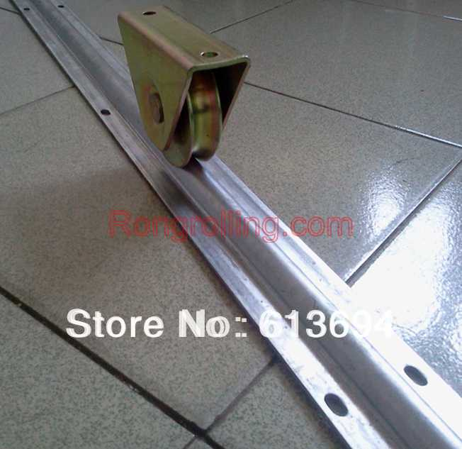 4 inch closed support automatic sliding gate wheel(wheel thickness 30mm)