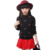 Crianças vestuário 2017 nova moda primavera camisola da menina da criança cereja impresso pullover inverno quente malha carigan para meninas
