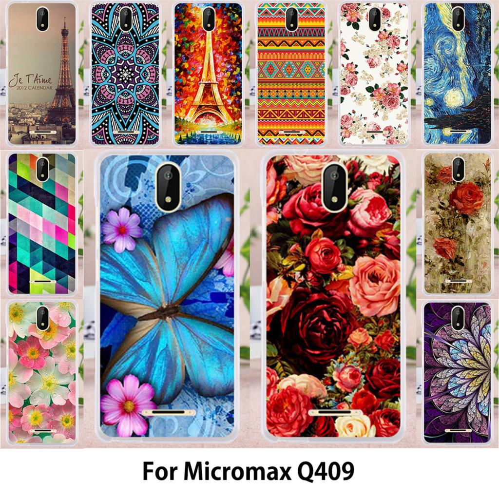 TAOYUNXI Case For Micromax Bolt Supreme 6 Q409 Micromax Q409 Spark Cases  Silicone TPU Covers Rose Butterfly Flowers Phone Bags-in Fitted Cases from  ... 1cdd769f7129