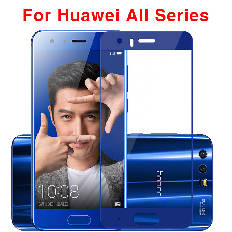 Tempered Glass Screen Protector Case For Huawei P9 P10 Plus P10 P9 Lite 2017 Honor 9 8 Lite 7x 6x 6c 6a V9 V8 Cover Film 9H Glas