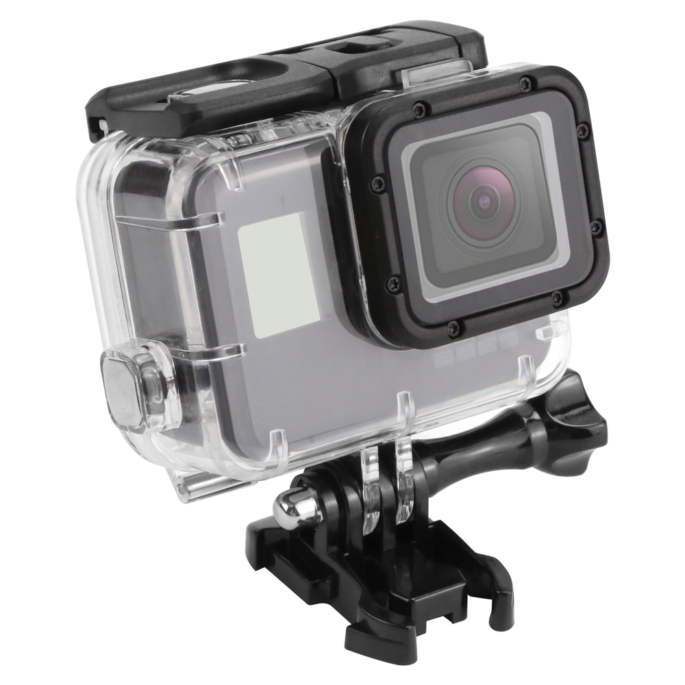 SHOOT 45m Waterproof Case for Gopro Hero 5 Black Edition Camera with base Mount Protective Gopro HERO 5 Case Go Pro Accessories