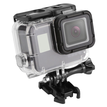 SHOOT 45m Waterproof Case for Gopro Hero 5 Black Edition Camera with base Mount Protective Gopro HERO 5 Case Go Pro Accessories drone helipad