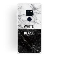 Frosted Cover For Huawei Mate 20 Case Soft TPU matting Marble pattern covering Mobile Phone Cases