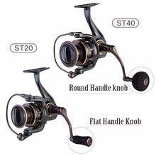 Pisicifun Stone 5.2:1 10BBs Spinning Fishing Reel  Super Powerful 11.3kg Max Drag Saltwater Spin Fishing Reels