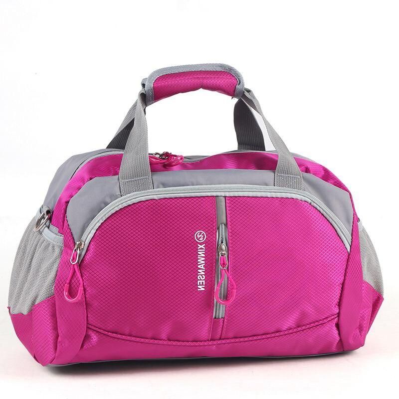 2017 Unisex Nylon Waterproof Sports Gym Bag Big Capacity Men Fitness Exercise Training Shoulder Bag Yoga Bag For Women Luggage