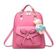 2016 новая женская сумка мода досуга рюкзак шутник двойного назначения мешок леди сумка сумка