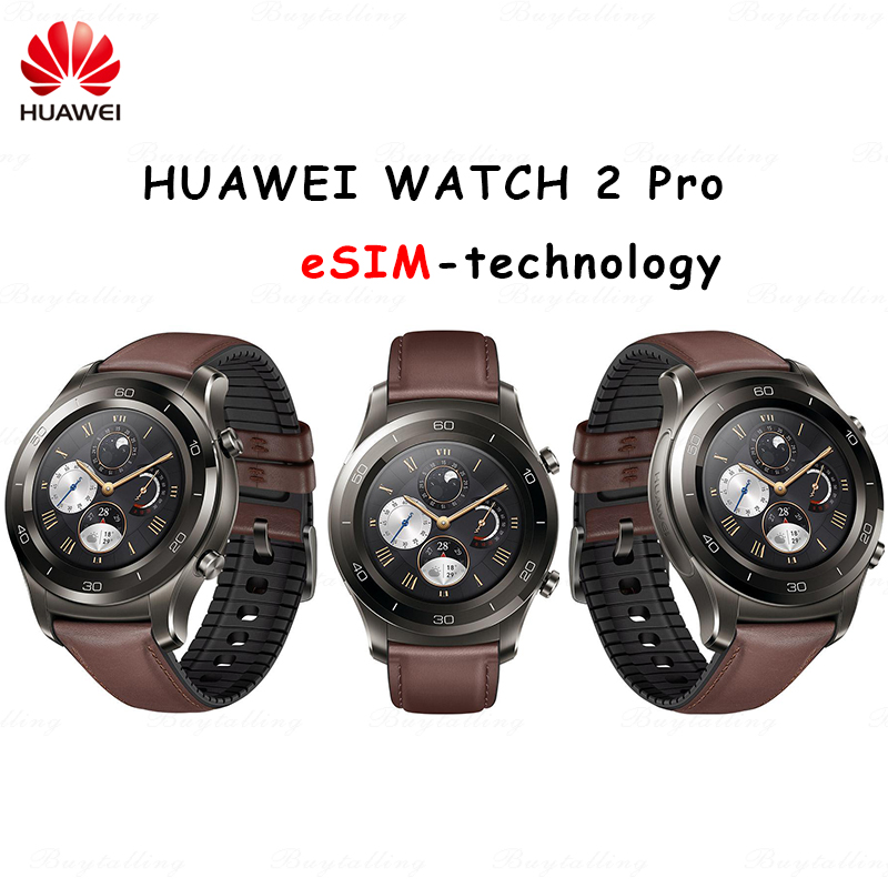 Original huawei watch 2 pro Smart Watch Support LTE 4G Phone Call Heart Rate Tracker For