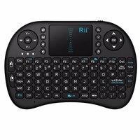 Mini teclado sin hilos 2.4g touchpad pequeño Español/Ruso/Hebreo teclado Del Teléfono/pad dedicado teclado Batería de Litio