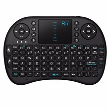 Mini wireless keyboard 2 4g touchpad small Spanish Russian Hebrew keyboard Phone pad dedicated keyboard Lithium