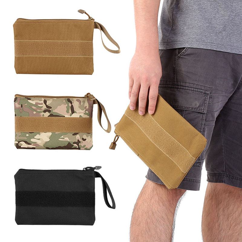 Mens Tactical Wallet Outdoor Travel Pouch Holster Id Cards Key Camouflage Hand Bag Large Capacity Xr-hot Relojes Y Joyas