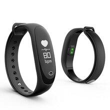 E26 Умные браслеты Поддержка артериального давления монитор сердечного ритма сна Фитнес tracker с Bluetooth удаленного телефона SMS напоминание
