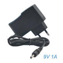 AC 100V-240V Converter Adapter DC 9V 1A Power Supply EU Plug 5.5 x 2.5mm 1000mA Wall Charger Adapter for Arduino UNO MEGA цены онлайн