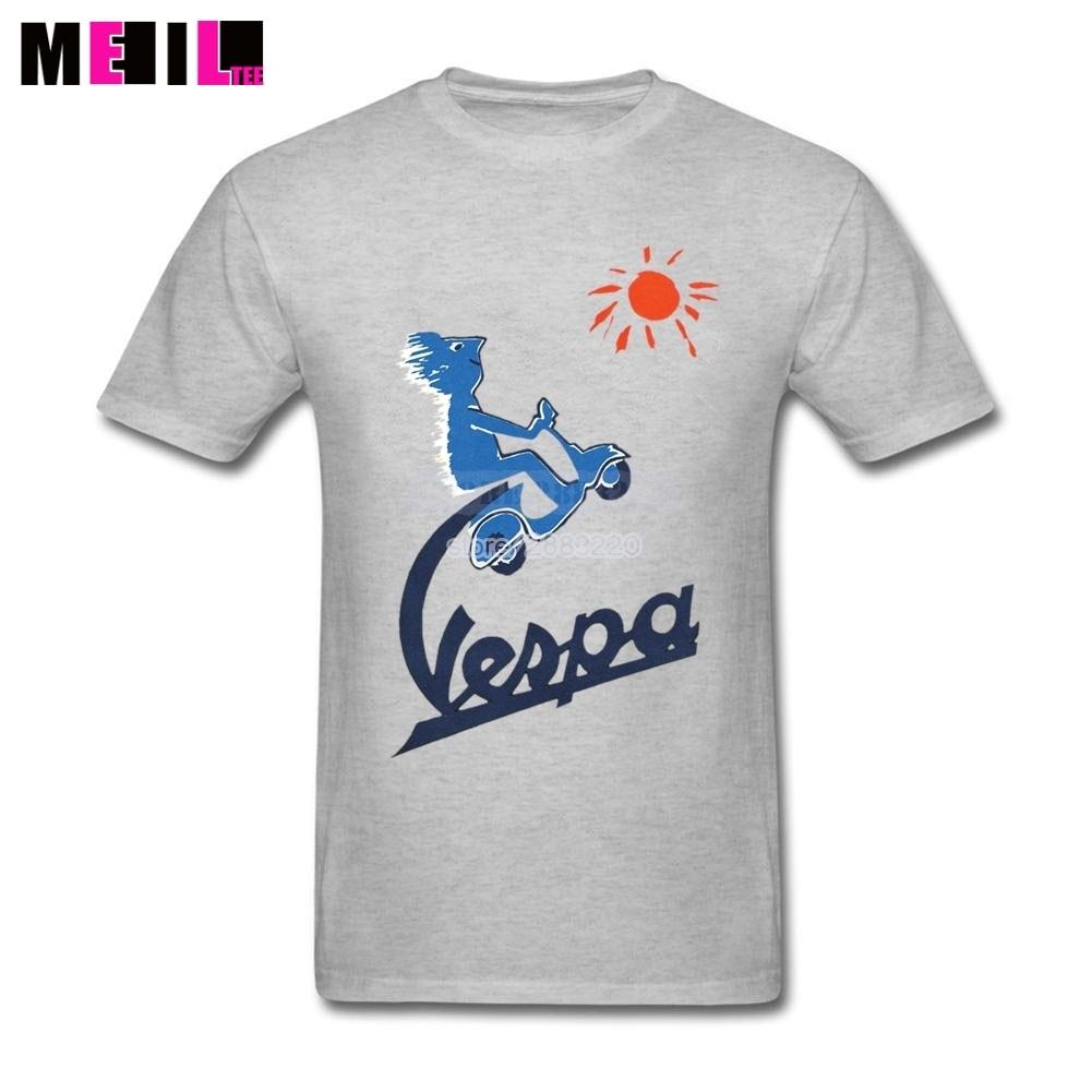 Design t shirts online - Men Italian Icon Vespa T Shirt Short Sleeved T Shirts Plus Size Funny Design T Shirt Online Tee