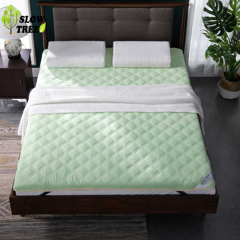 Slow Tree Tatami Mattress 6cm(2.3in)Thickeness Bed Mat Carpet Economy 1.8M Double Floor Sleeping Folding Mats Lazy Cushion Sheet