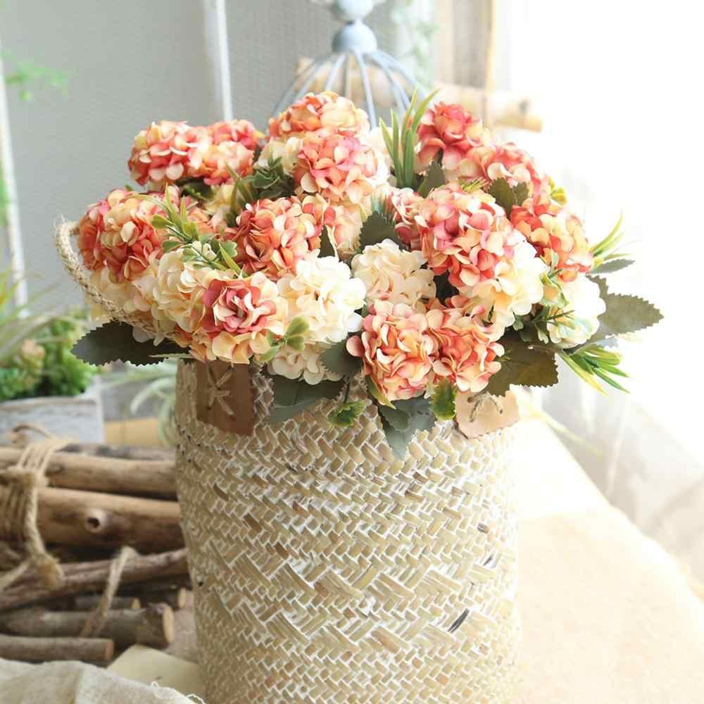 Simulation ball Chrysantheme Kleine haufen DIY Hochzeit Braut Bouquet Von Einrichtungs Tisch Dekoration Gefälschte Blume geburtstag geschenk