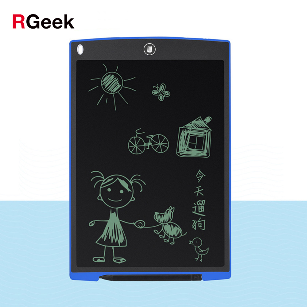 Owltree 12 Polegada lcd escrita tablet digital desenho tablet almofadas de escrita portátil placa de tablet eletrônico placa ultra-fina