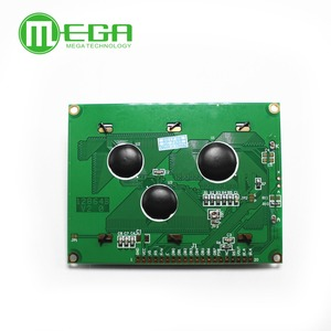 Image 4 - 12864 128x64 Dots Graphic Yellow Green/Blue Color with Backlight LCD Display Module ST7920 Parallel Port for arduino Diy Kit