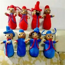 """1"""" Высота милые плюшевые игрушки куклы в ночном саду пони Wottingers 4 предмета в упаковке/лот"""