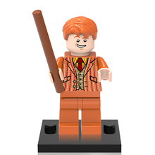 Single Sale XINH377 Fred/George Minifigures Harry Potter Super Hero Building Blocks Models Children Christmas Gift Toys X0129