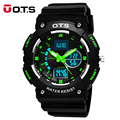 50M Professional Waterproof digital analog Luminous Watches men large dial outdoor sports military wristwatches 2016 fashion OTS