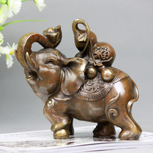 decoration clock A large elephant gourd ornaments ornaments lucky money copper