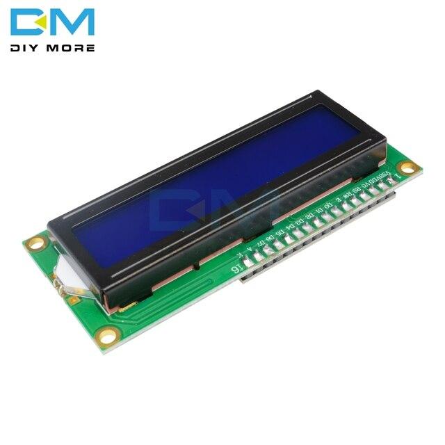 Blue Backlight Display IIC I2C TWI SPI Serial Interface 1602 16 X 2 16x2 Character Digital LCD Module Board For Arduino 5v