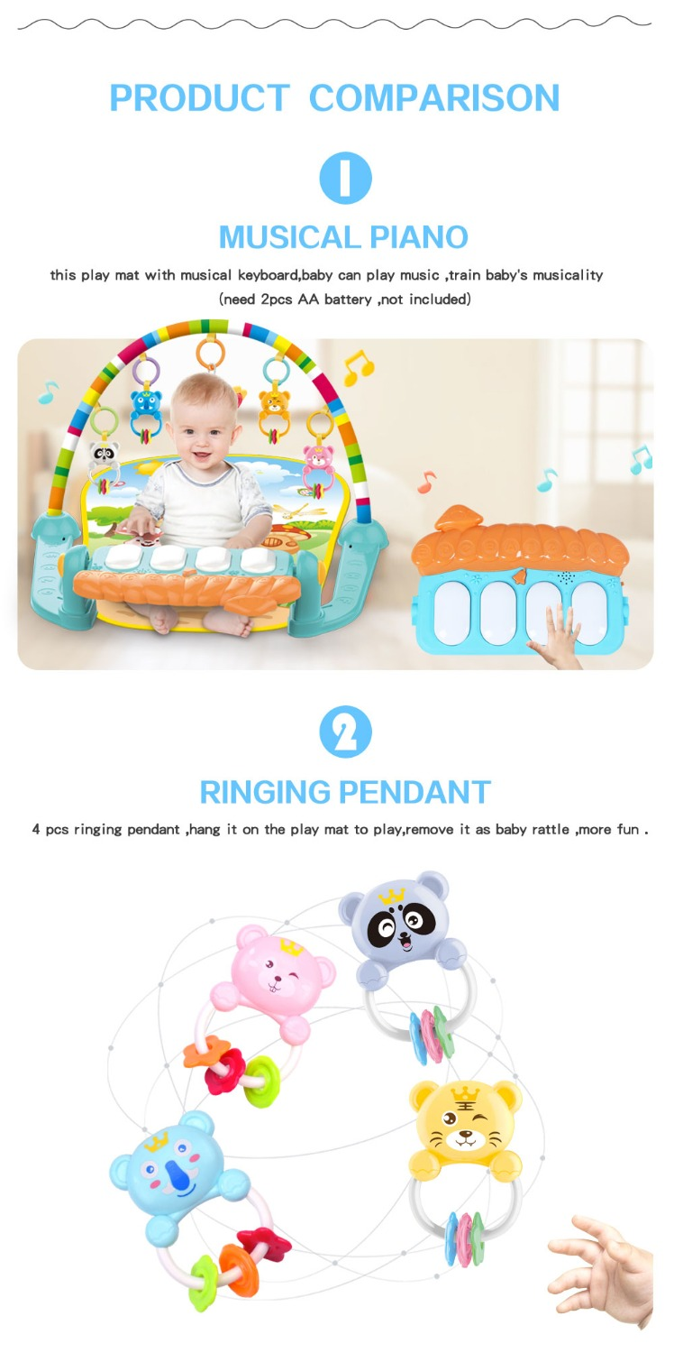 HTB1HdqhXN rK1RkHFqDq6yJAFXa7 Dropship baby mat carpet musical activity gym puzzle children's tapete infantile Soft pad floor game creeping developmental toy