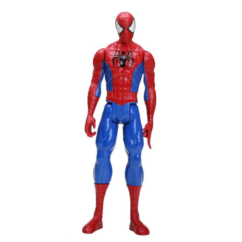 """12 """"30CM מארוול נוקמי ספיידרמן ספיידרמן פעולה איור איש עכביש צעצוע אסיפה דגם צעצוע איש ברזל thor"""