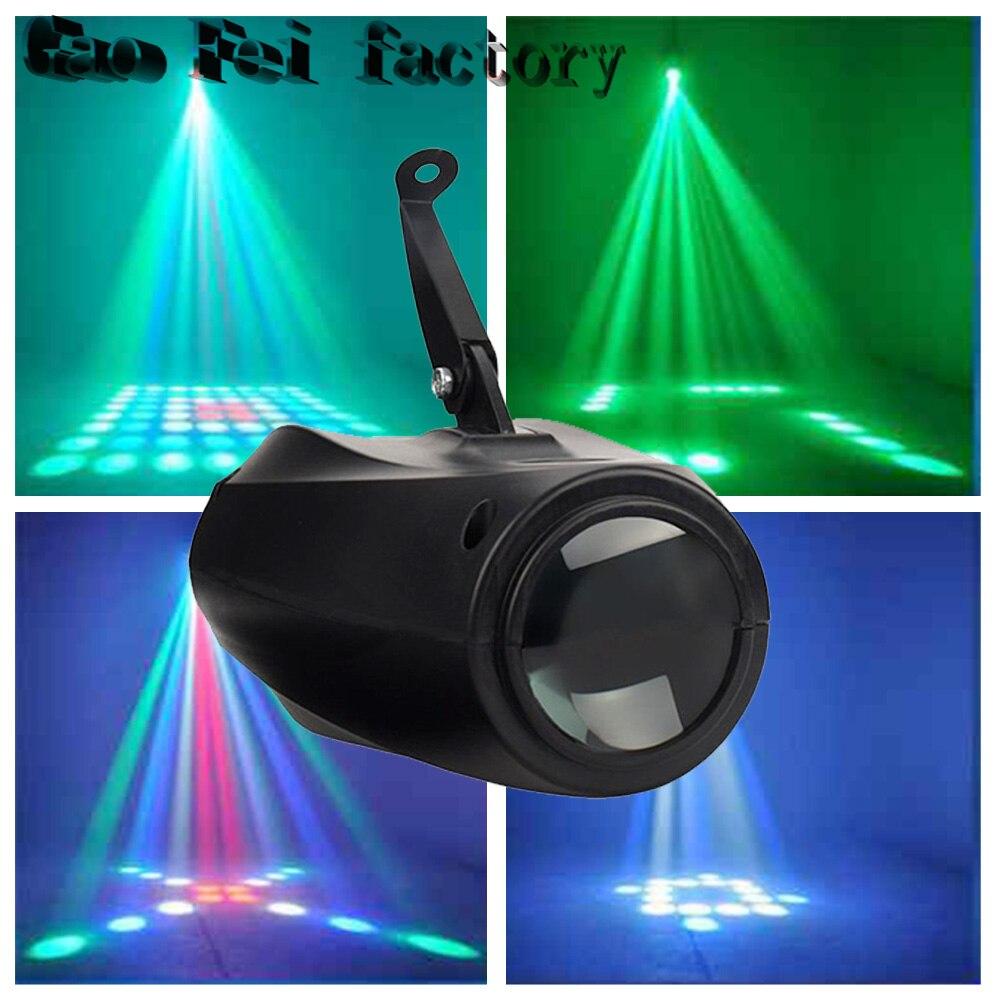 DMX Small Airship LED Moon Flower Pattern Stage Light DJ Effect LightingDMX Small Airship LED Moon Flower Pattern Stage Light DJ Effect Lighting