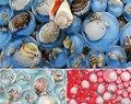 Круглая мозаичная плитка из Восточной средиземноморской синей смолы с натуральным корпусом  EHM1032  для кухни  для ванной  для душа  настенная ...