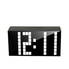 LED Alarm font b Clock b font Despertador Temperature Calendar LED Display Electronic Desktop Digital font