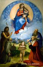 Classic paintings Madonna of Foligno Raphael sanzio Art reproduction High quality Hand painted