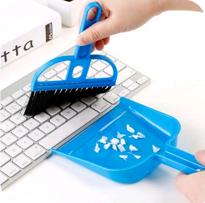 Mini clean storage consolidation desktop small suit broom small broom set cleaning brush ...