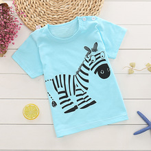 2019 new baby boy and girl clothes summer kids short sleeve t shirt quality 100% cotton children clothing tshirt 2019 baby clothes set best quality 100% cotton summer kids clothes striped baby boy and girl clothes children sets tshirt