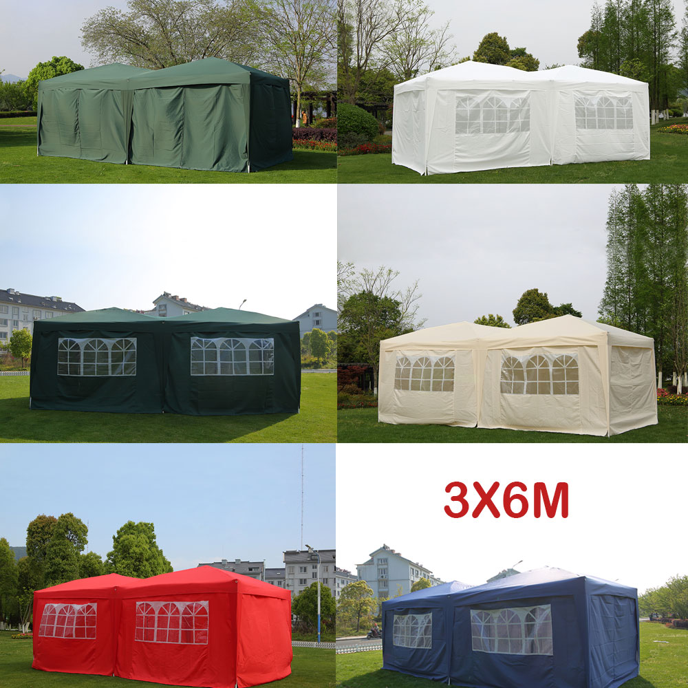Panana Large 6x3m WATERPROOF Pop Up Garden Gazebo Party Tent with Sides Window free Bag Country Fair fit 4-6 people Rapid-TentPanana Large 6x3m WATERPROOF Pop Up Garden Gazebo Party Tent with Sides Window free Bag Country Fair fit 4-6 people Rapid-Tent