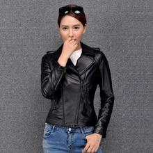 2019 New Fashion Women Genuine Sheep Leather Jacket J2