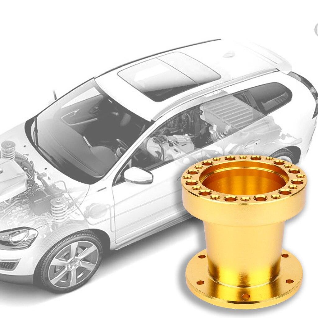Auto Stuurwiel Hub Uitbreiding Adapter Spacer 76 Mm Hoogte Toepasselijk Modellen Universal Aluminium Duidelijk En Onderscheidend