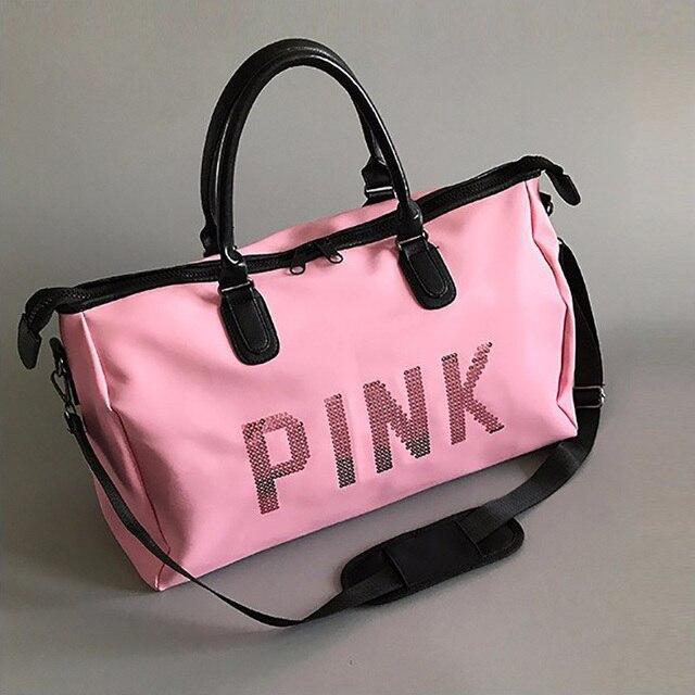 Women Traveling Shoulder Bag Large Capacity Travel Bag Hand Luggage Bag  Clothes Organizer Glamor Girl Duffle c42f7b74f90aa