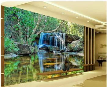 3d landscape wallpaper custom Falls Scenic Backdrop photo wall murals mural