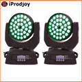 36x*10w Zoom Moving Head Wash Led Mini Stage Disco Dj Dmx Light Rgbw Strobe Lamp Laser Show Party Luce Licht 2pcs/lot