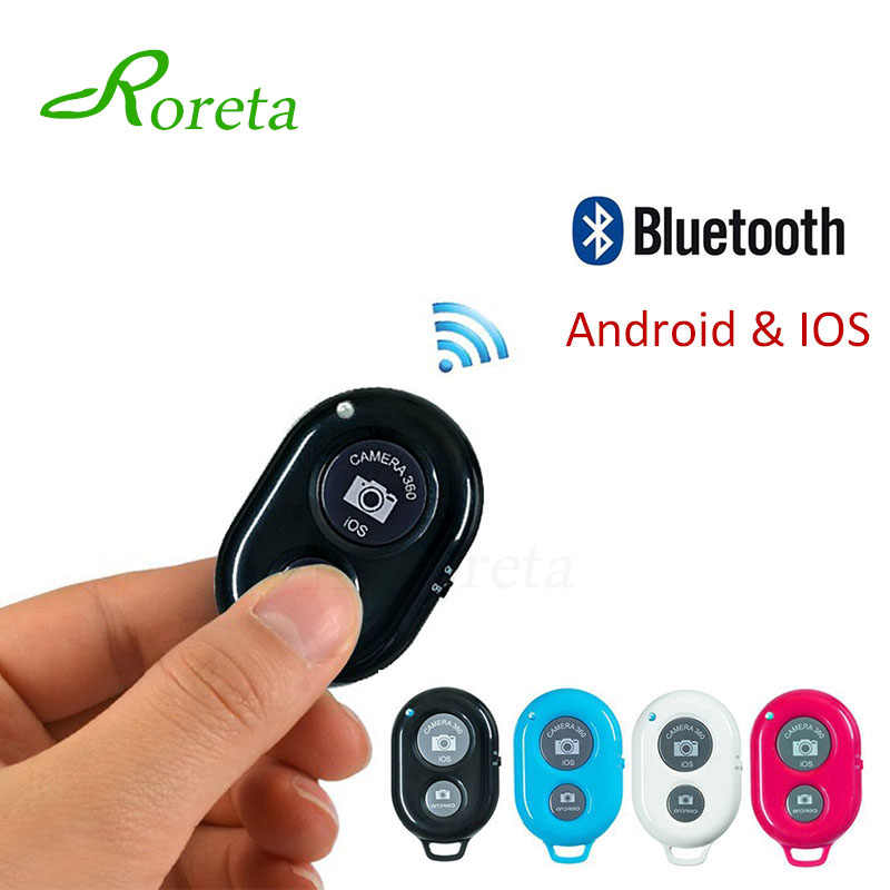 Roreta Bluetooth беспроводной пульт дистанционного управления затвора для iPhone Android телефон Bluetooth пульт дистанционного спуска затвора