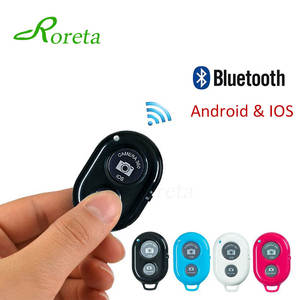 Roreta Bluetooth Wireless Remote control shutter for iPhone Android Phone Bluetooth