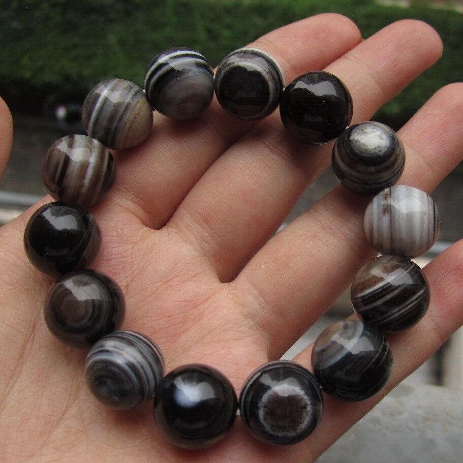 Fashion natural stone wet redstone silk and full bead bracelet 1 men and women's bracelet