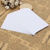 KiWarm 20 Sheets White A4 Self Adhesive Glossy Paper Label Sticker For Laser Inkjet Printers Waterproof